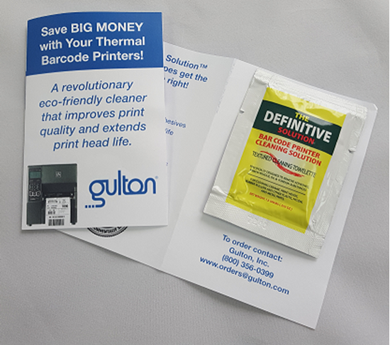 Thermal Printhead Cleaning Wipes